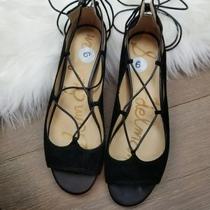 🎉lower price today🎉Sam Edelman lace up flats